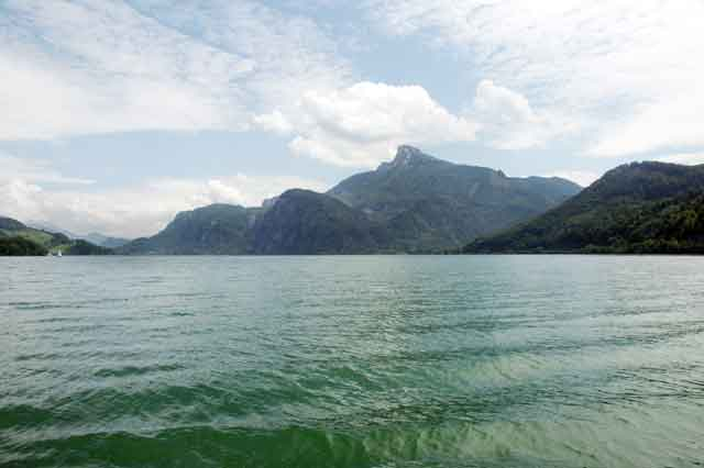 The Schfaberg is one of the highest mountain in the Salzkammergut